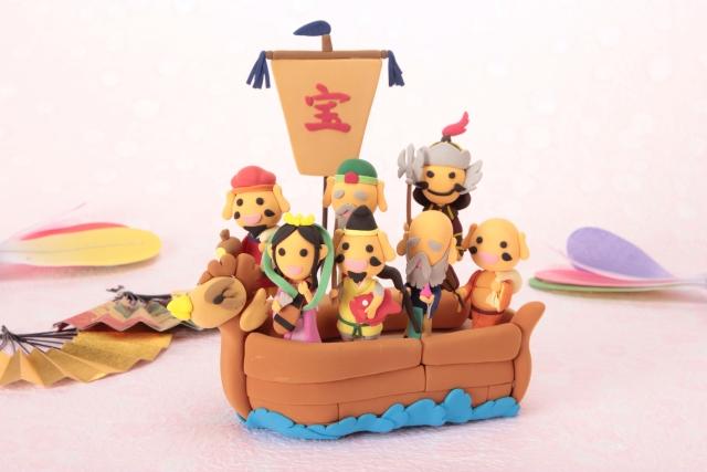 船に乗る七福神
