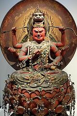 愛染明王の仏像