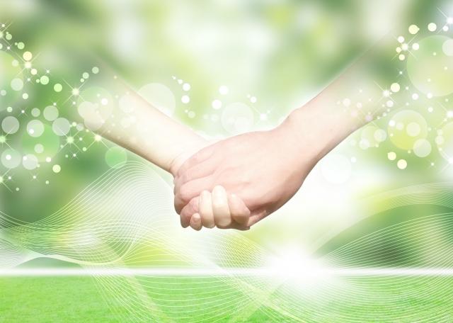 手をつなぐ イメージ